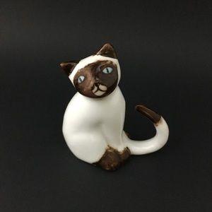 Fine Bone Porcelain Cat Kitty Figurine